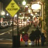 Night street scenes in Middletown (cover of the Times Herald-Record)