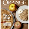 Orange Magazine Cover: Apples
