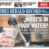 Times Herald-Record cover photo – Water contamination