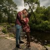 Engagement shoot in the Catskills