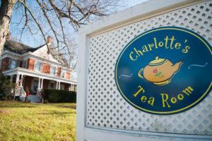 Charlotte's Tea Room in Warwick