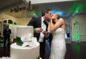 St. Patrick's Day Wedding at the Whitby Castle