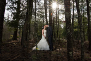 Spring wedding in the Poconos