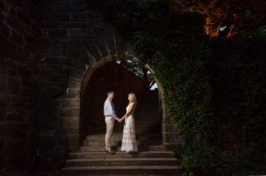 NYC Engagement shoot at Fort Tryon Park