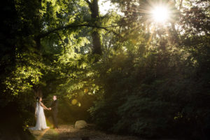 Engagement session at the Bartlett Arboretum