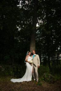 Backyard wedding in Middletown