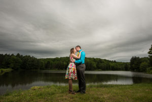 Chris and Erica's Binghamton engagement session