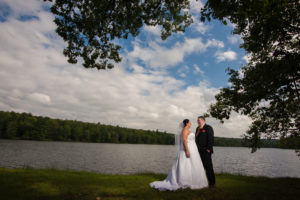 Rustic wedding at a Catskills Boy Scout camp