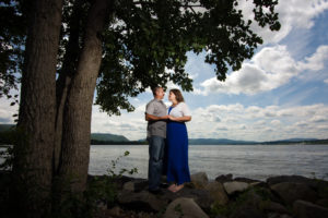 Engagement at Scenic Hudson's Long Dock Park