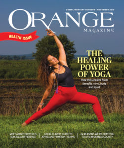 Orange Magazine Yoga Cover